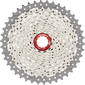 SunRace CSMX8 Cassette 11-speed, metallic